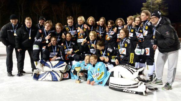 Kampparit P17 on Suomen mestari (Kuvaaja Mari Ukkonen)
